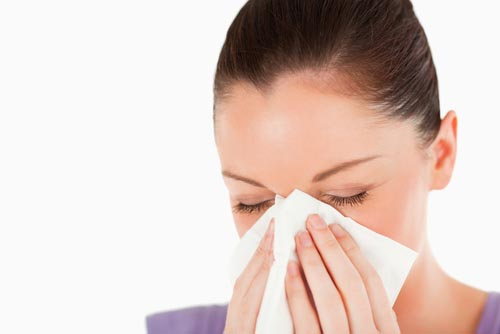 how to clear a stuffy nose fast