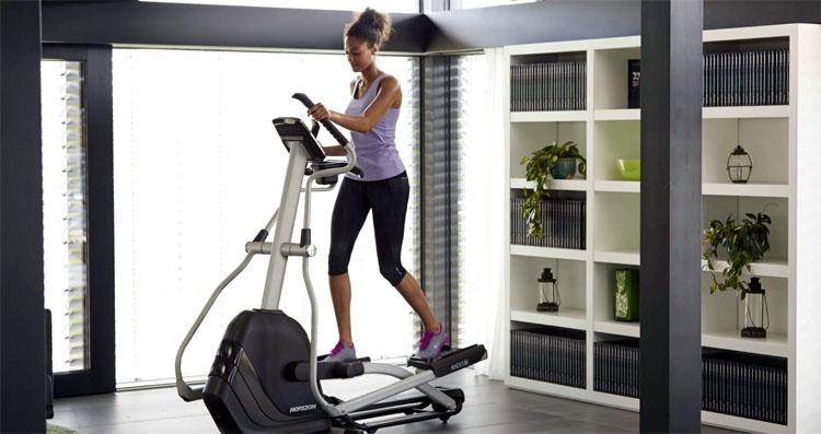 Elliptical Trainer-woman