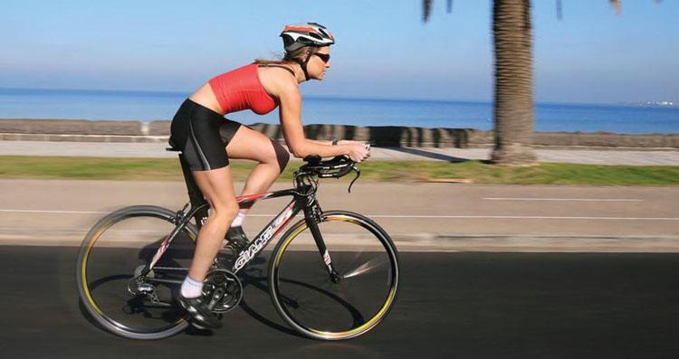 woman-Bicycling
