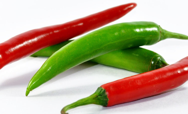 Capsaicin-Chilies