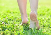 Health Benefits Of Walking Barefoot On Grass